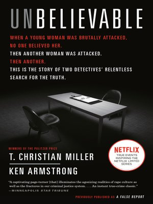 cover image of Unbelievable (Movie Tie-In)