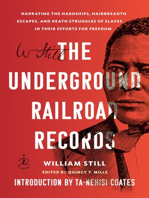 cover image of The Underground Railroad Records