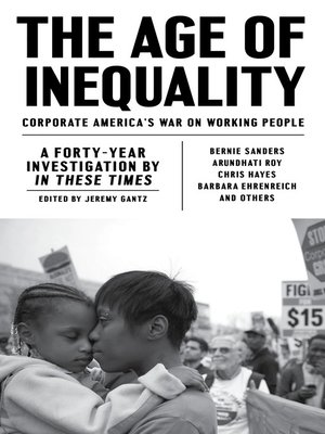 cover image of The Age of Inequality