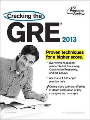 Cracking the GRE by Princeton Review · OverDrive (Rakuten