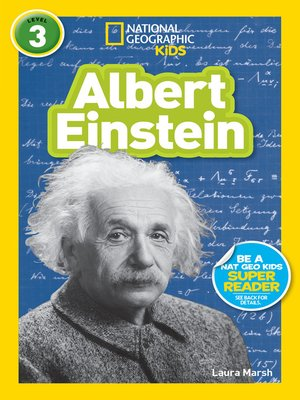 cover image of National Geographic Readers: Albert Einstein