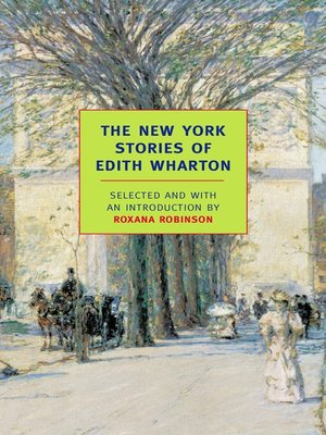 cover image of The New York Stories of Edith Wharton