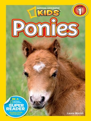 cover image of National Geographic Readers: Ponies