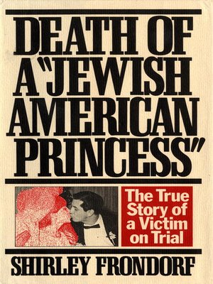 cover image of Death of a Jewish American Princess