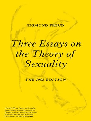 cover image of Three Essays on the Theory of Sexuality