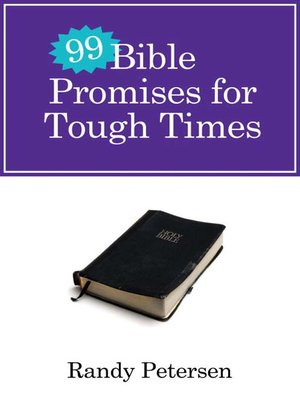cover image of 99 Bible Promises for Tough Times