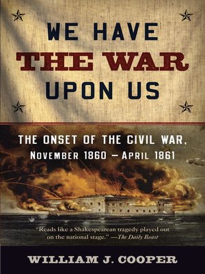 cover image of We Have the War Upon Us