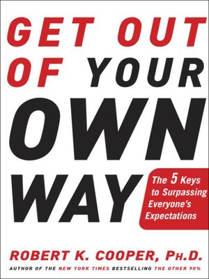 cover image of Get Out of Your Own Way