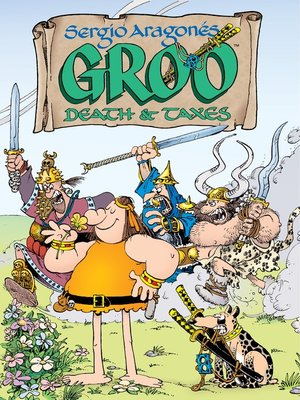 cover image of Groo: Death and Taxes