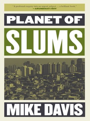 cover image of Planet of Slums