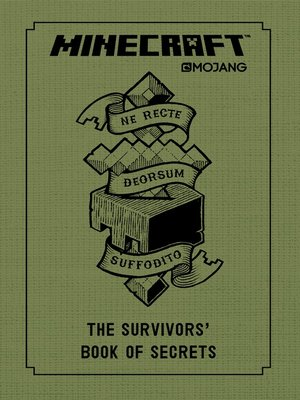 cover image of The Survivors' Book of Secrets: An Official Mojang Book