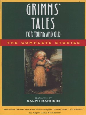 cover image of Grimms' Tales for Young and Old
