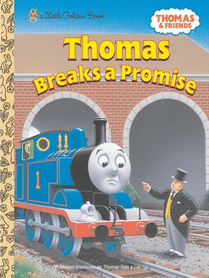 cover image of Thomas Breaks a Promise (Thomas & Friends)