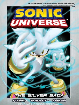 cover image of Sonic Universe 7: Silver Saga