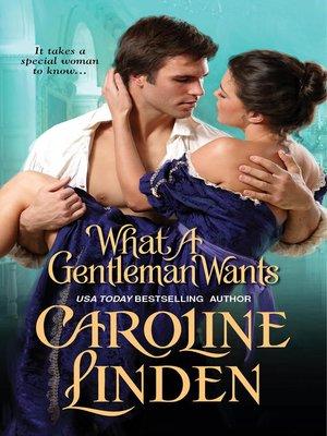 Caroline linden overdrive rakuten overdrive ebooks what a gentleman wants fandeluxe PDF