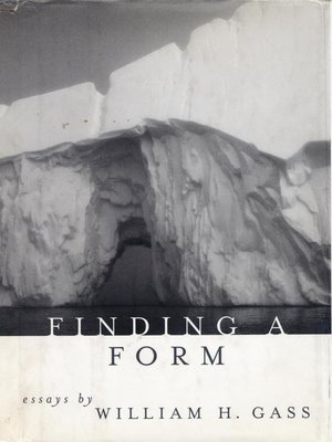 cover image of Finding a Form