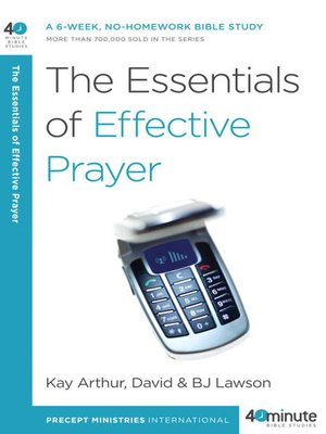 cover image of The Essentials of Effective Prayer