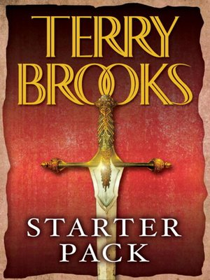 cover image of Terry Brooks Starter Pack (4-Book Bundle)