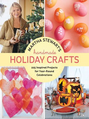 cover image of Martha Stewart's Handmade Holiday Crafts