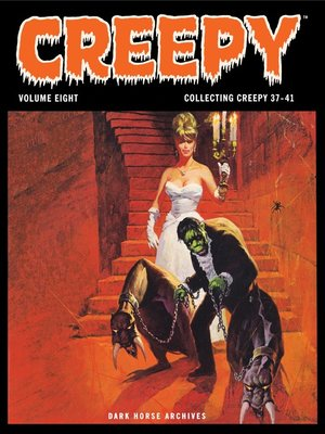 cover image of Creepy Archives, Volume 8
