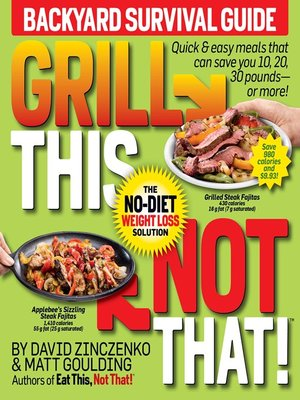 cover image of Grill This, Not That!