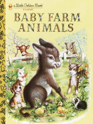 cover image of Baby Farm Animals