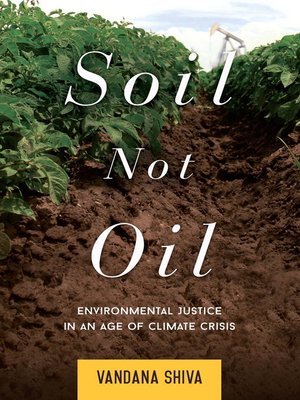 cover image of Soil Not Oil