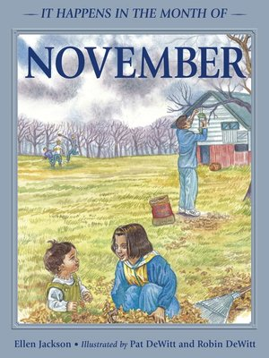 cover image of It Happens in the Month of November