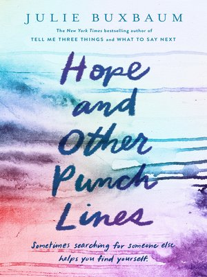 Cover image for Hope and Other Punch Lines