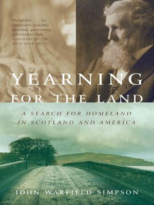 cover image of Yearning for the Land