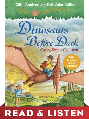 cover image of Dinosaurs Before Dark