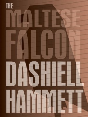 cover image of The Maltese Falcon