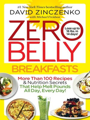 cover image of Zero Belly Breakfasts