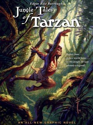 cover image of Edgar Rice Burroughs' Jungle Tales of Tarzan
