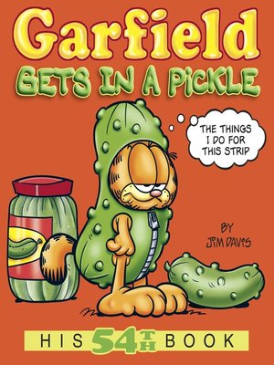 cover image of Garfield Gets in a Pickle