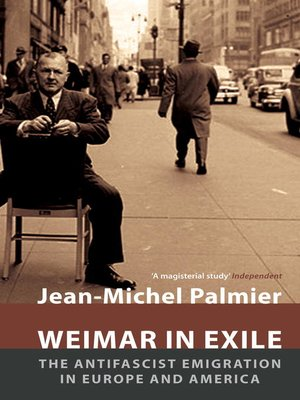 cover image of Weimar in Exile