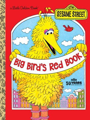 cover image of Big Bird's Red Book (Sesame Street)
