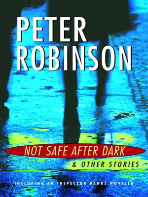 cover image of Not Safe After Dark, and Other Stories