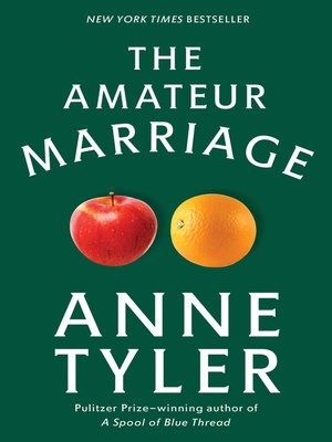 cover image of The Amateur Marriage