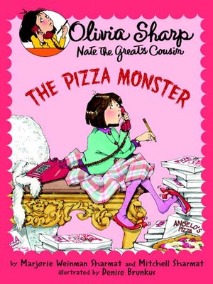 cover image of The Pizza Monster