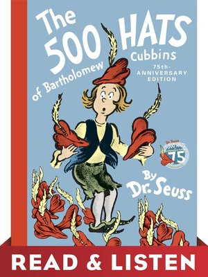 cover image of The 500 Hats of Bartholomew Cubbins