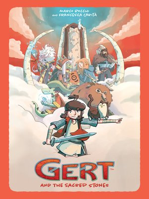 cover image of Gert and the Sacred Stones