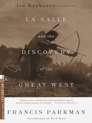 cover image of La Salle and the Discovery of the Great West