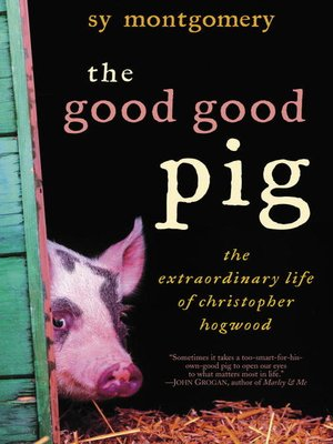 cover image of The Good Good Pig