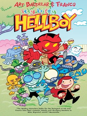 cover image of Itty Bitty Hellboy