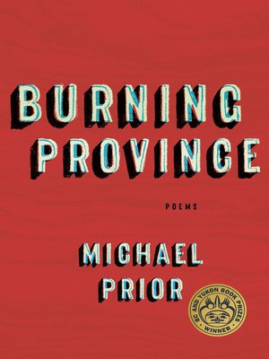 cover image of Burning Province