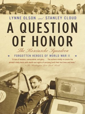 cover image of A Question of Honor