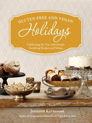 cover image of Gluten-Free and Vegan Holidays