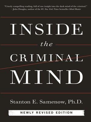 cover image of Inside the Criminal Mind