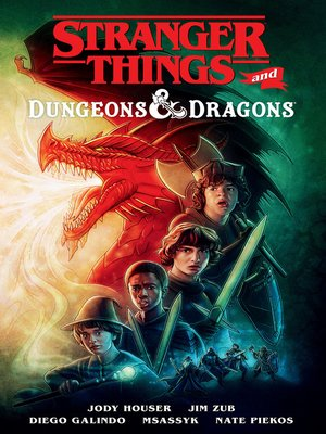 cover image of Stranger Things and Dungeons & Dragons